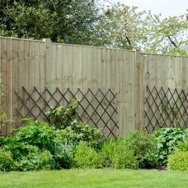 Professional Feather Edge Fence Panel