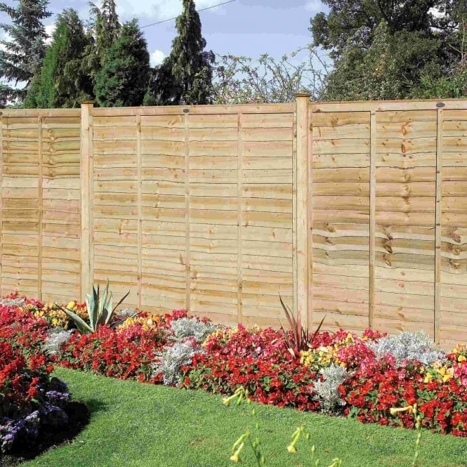 Grange Professional Lap Fence Panel - Natural