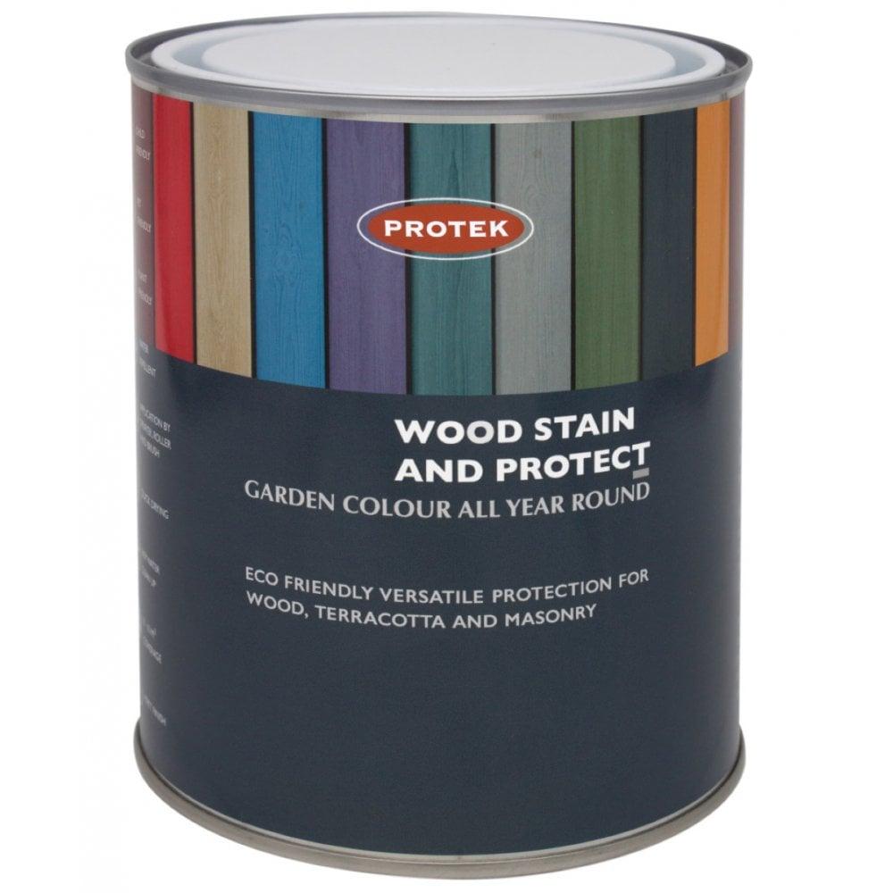 Protek Wood Protector Clear Top Coat Garden Street