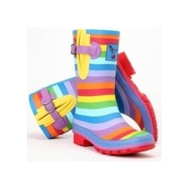 Rainbow Short Wellies
