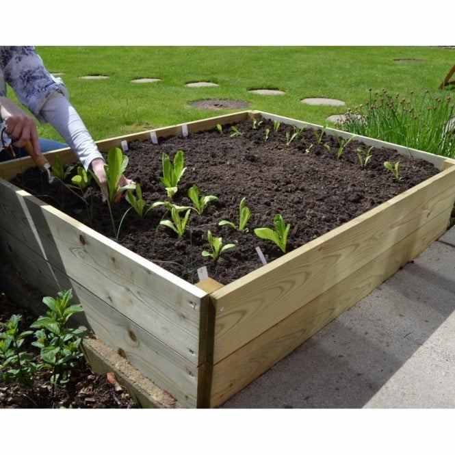 Greena Rectangular Raised Bed