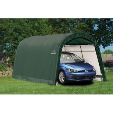 Round Top Auto Shelter 10X15