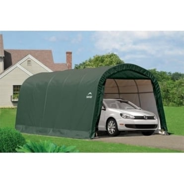 Round Top Auto Shelter 10X20