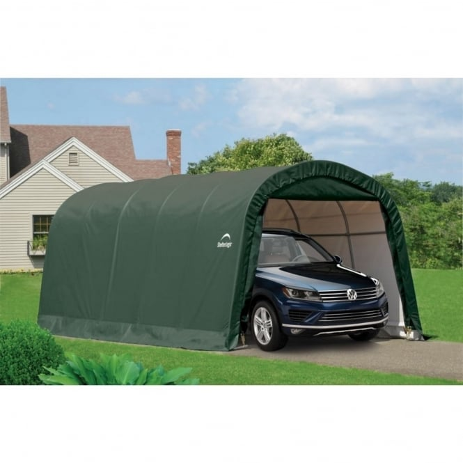 Shelter Logic Round Top Auto Shelter 12X20