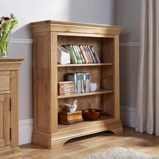 Rowlinson At Home Breton Solid Oak 3' Bookcase