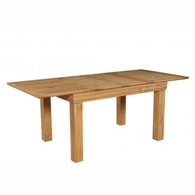 Rowlinson At Home Breton Solid Oak Extending Dining Table