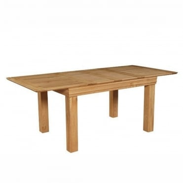Breton Solid Oak Extending Dining Table