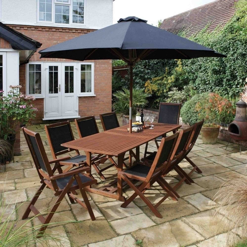 bali 8 seater dining set - Garden Furniture 8 Seater
