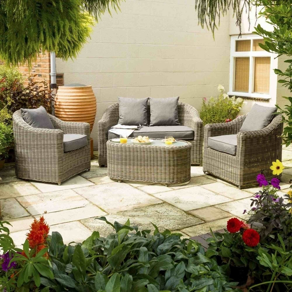 Wicker Sofa For Sale Uk: Rowlinson Bunbury Rattan Sofa Set
