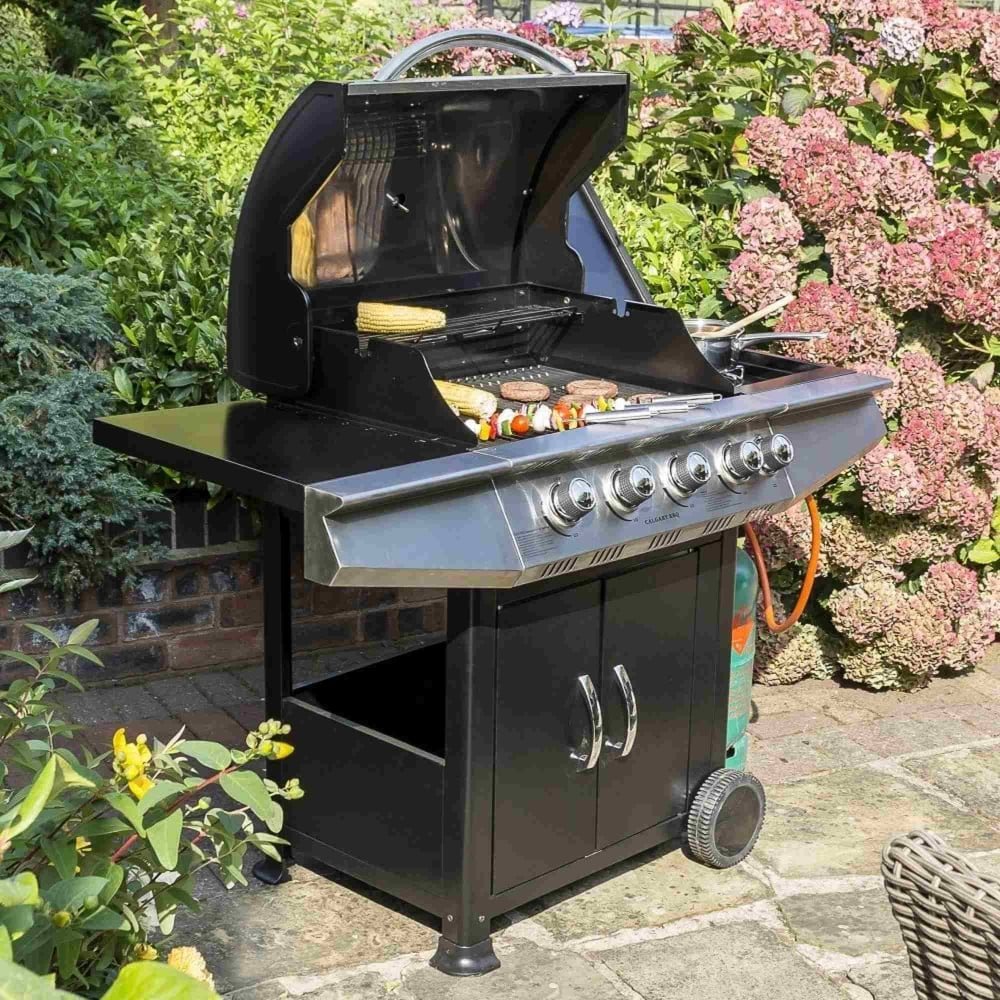 Outdoor Patio Furniture Calgary: Rowlinson Calgary 4 Burner Gas BBQ From Garden Street UK