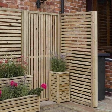 Garden Creations Vertical Slatted Screen