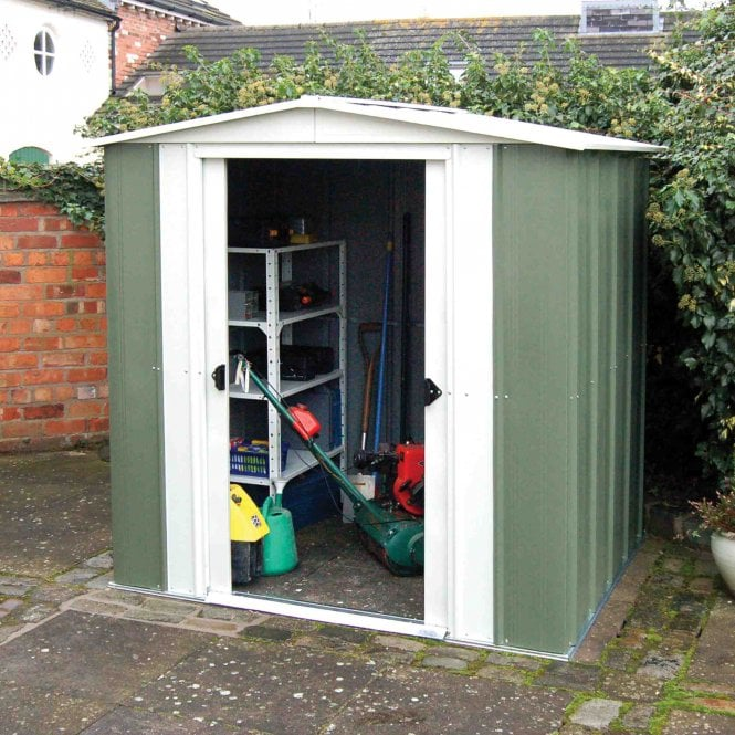 Rowlinson Greenvale Metal Apex Shed 6X5