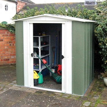 Greenvale Metal Apex Shed 6X5