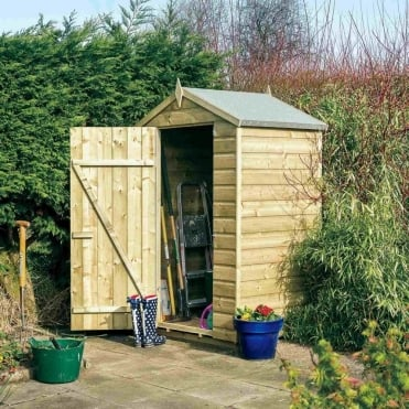 Oxford Shiplap Apex Shed 4X3
