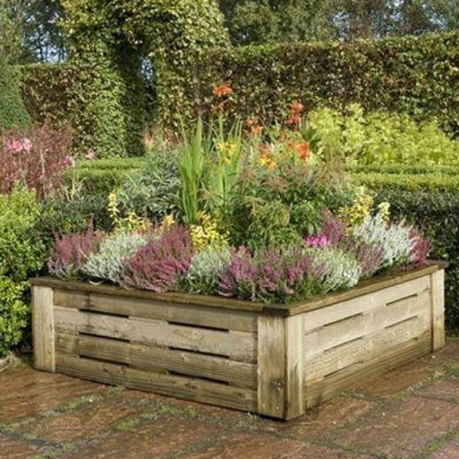 Rowlinson Raised Planter 4X4