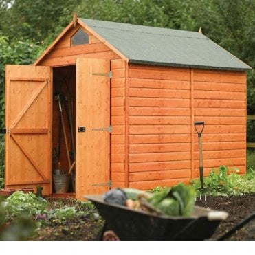 Security Shiplap Apex Shed 6X8