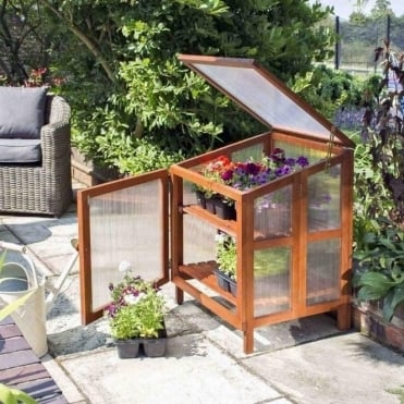 Single Hardwood Cold Frame