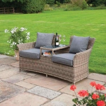 Tatton Rattan Companion Seat