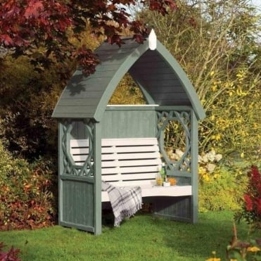Willow Painted Arbour