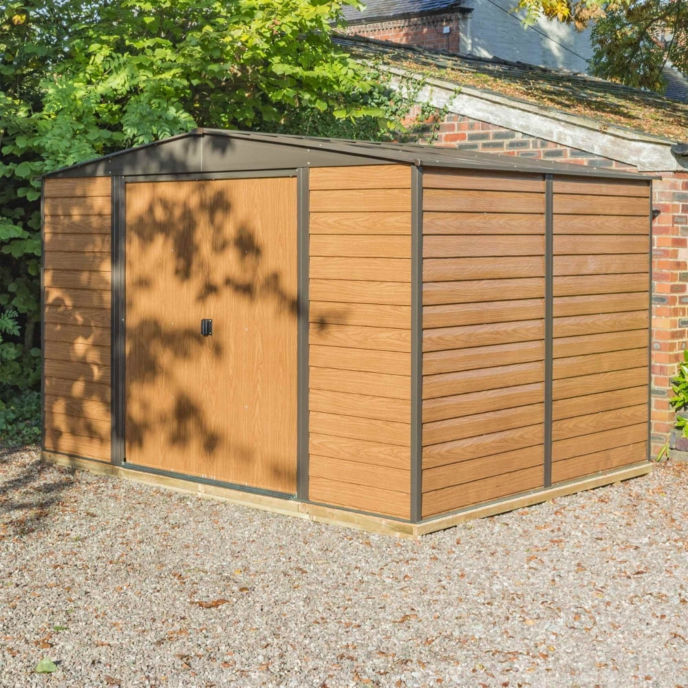 Woodvale Metal Apex Shed 10X12