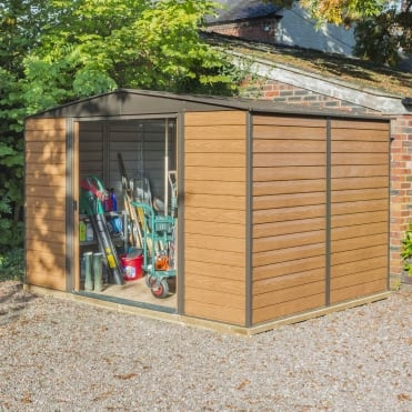 Woodvale Metal Apex Shed 10X8