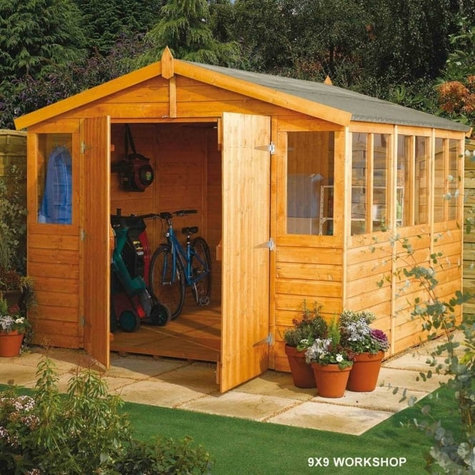 Rowlinson Workshop Shiplap Apex 9X15