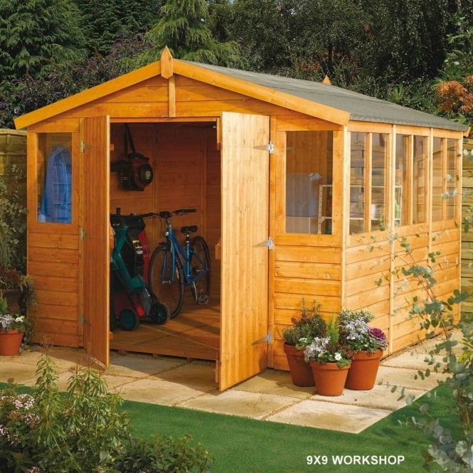 Rowlinson Workshop Shiplap Apex 9X18