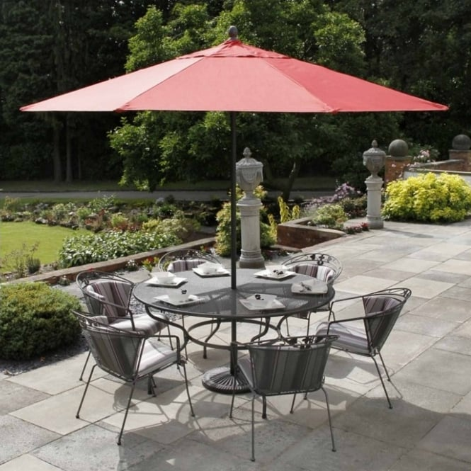 Royal Garden Elegance 6 Seater Dining Set
