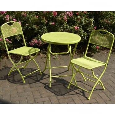 Cafe Espresso Folding Bistro Set