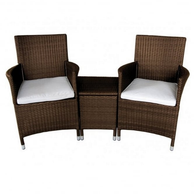 Royalcraft Cannes Rattan 2 Seater Companion Set