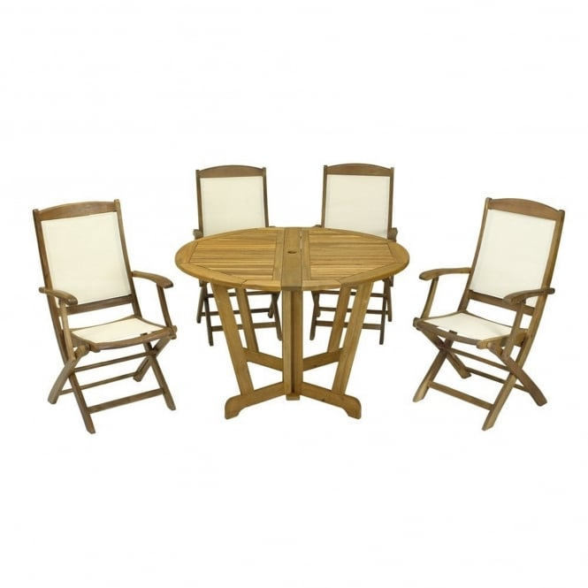 Royalcraft Henley Round 4 Seater Dining Set