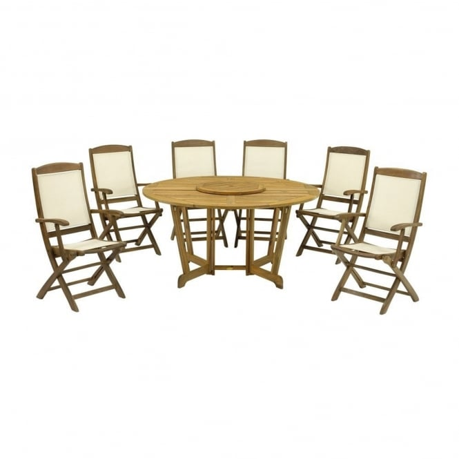 Royalcraft Henley Round 6 Seater Dining Set