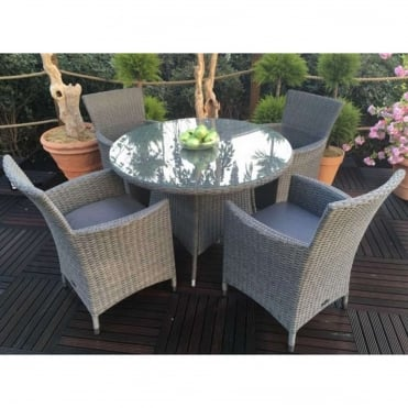 Madison 4 Seater Dining Set