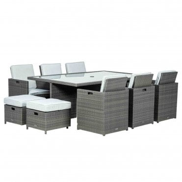 Marlow Deluxe 10 Seater Cube Set