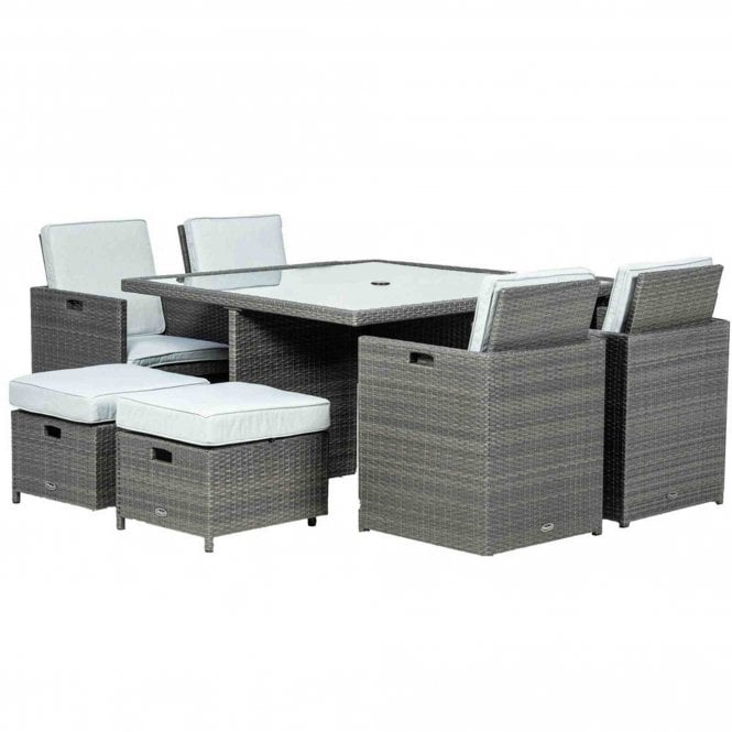 Royalcraft Marlow Deluxe 8 Seater Cube Set
