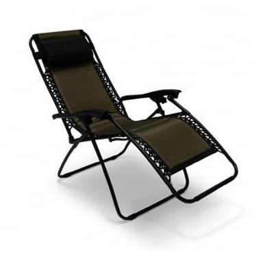 Padded Textylene Zero Gravity Chair