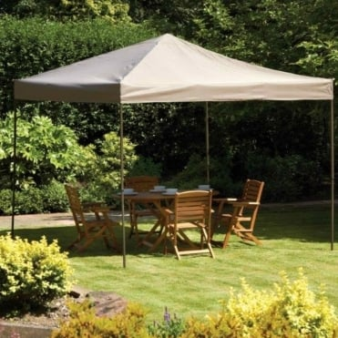Pop Up Steel Showerproof Gazebo 3x3