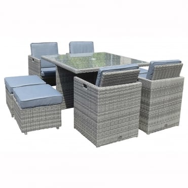 Windsor Deluxe 8 Seater Cube Set