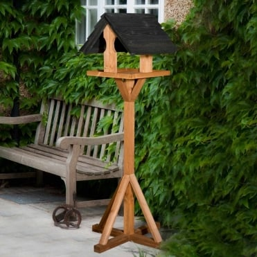Sarre Bird Table - Black Roof
