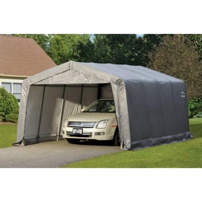 Shelter Logic Compact Peak Auto Shelter 12X16