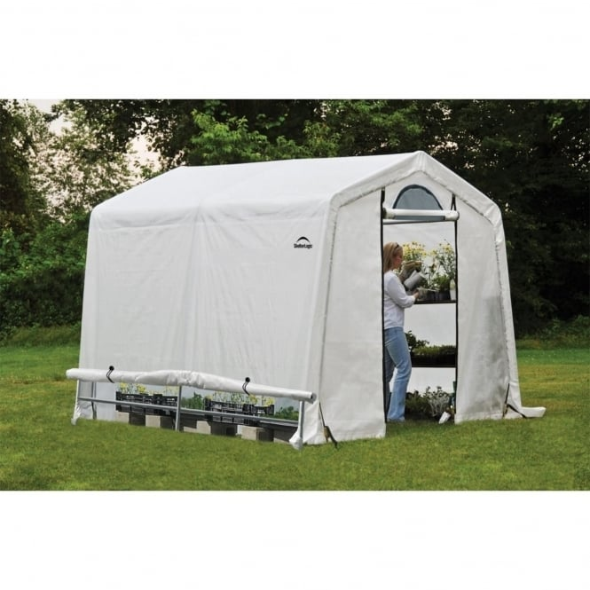 Shelter Logic Peak Style Greenhouse 8X8