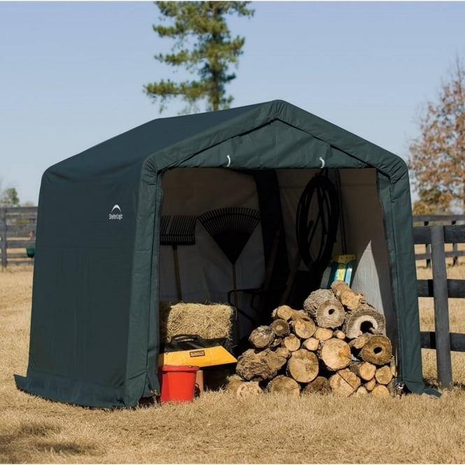 Shelter Logic Peak Style Storage Shed 10X10