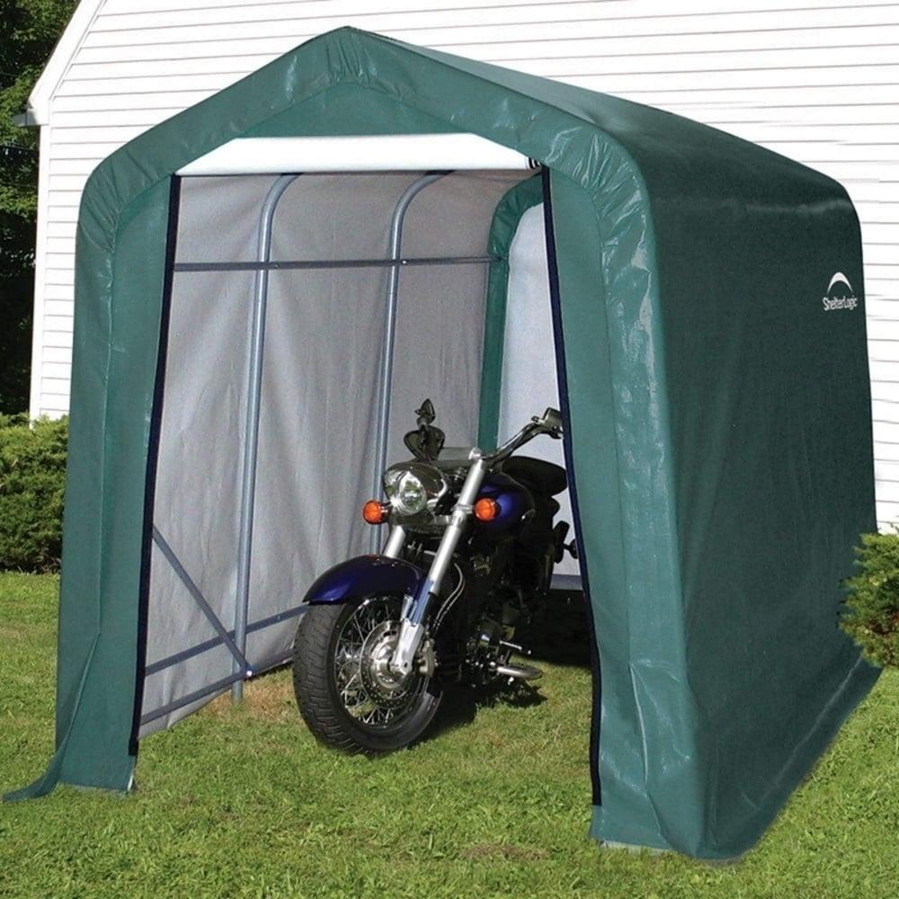 Shelter Logic Peak Style Storage Shed 6x10 Garden Street