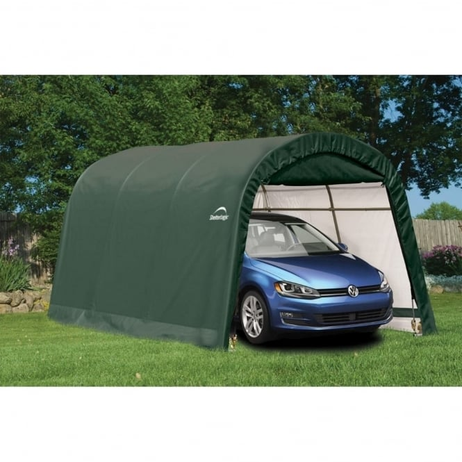 Shelter Logic Round Top Auto Shelter 10X15