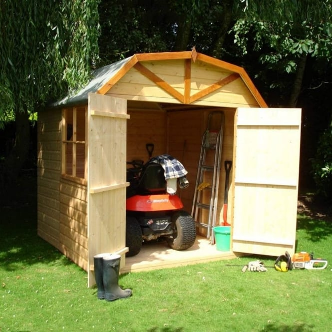 Shire Barn Shiplap Shed 7X7
