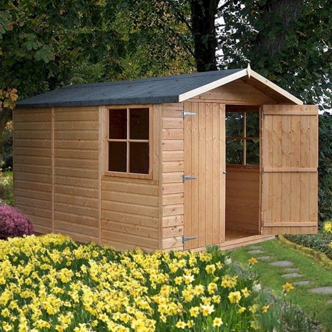Shire Guernsey Shiplap Apex Shed 7X10