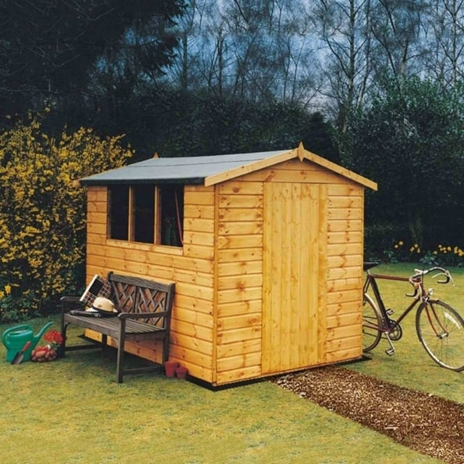 Shire Lewis Tongue & Groove Shed 4X6