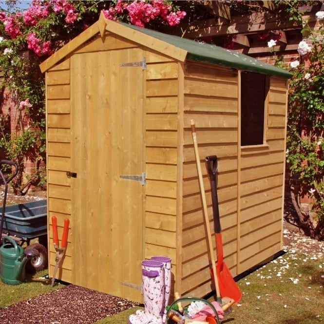 Shire Overlap Apex Shed 4X6