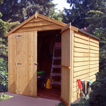 Overlap Apex Shed 6X8