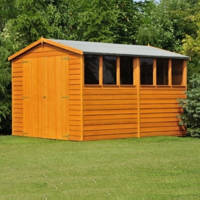 Shire Overlap Apex Shed 8X10